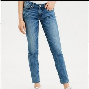 AMERICAN EAGLE SKINNY  STRETCH JEANS  LONG NEW